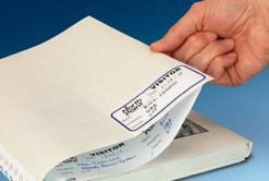 Sealed label liner