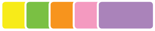 New fluorescent colors available for select visitor badge styles