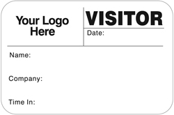 Visitor Pass Solutions FULL-Expiring Badge Style #807