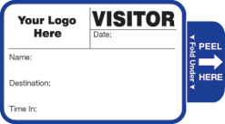 Visitor Badge Style 808
