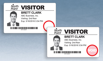 DOT-Expiring Visitor Badges