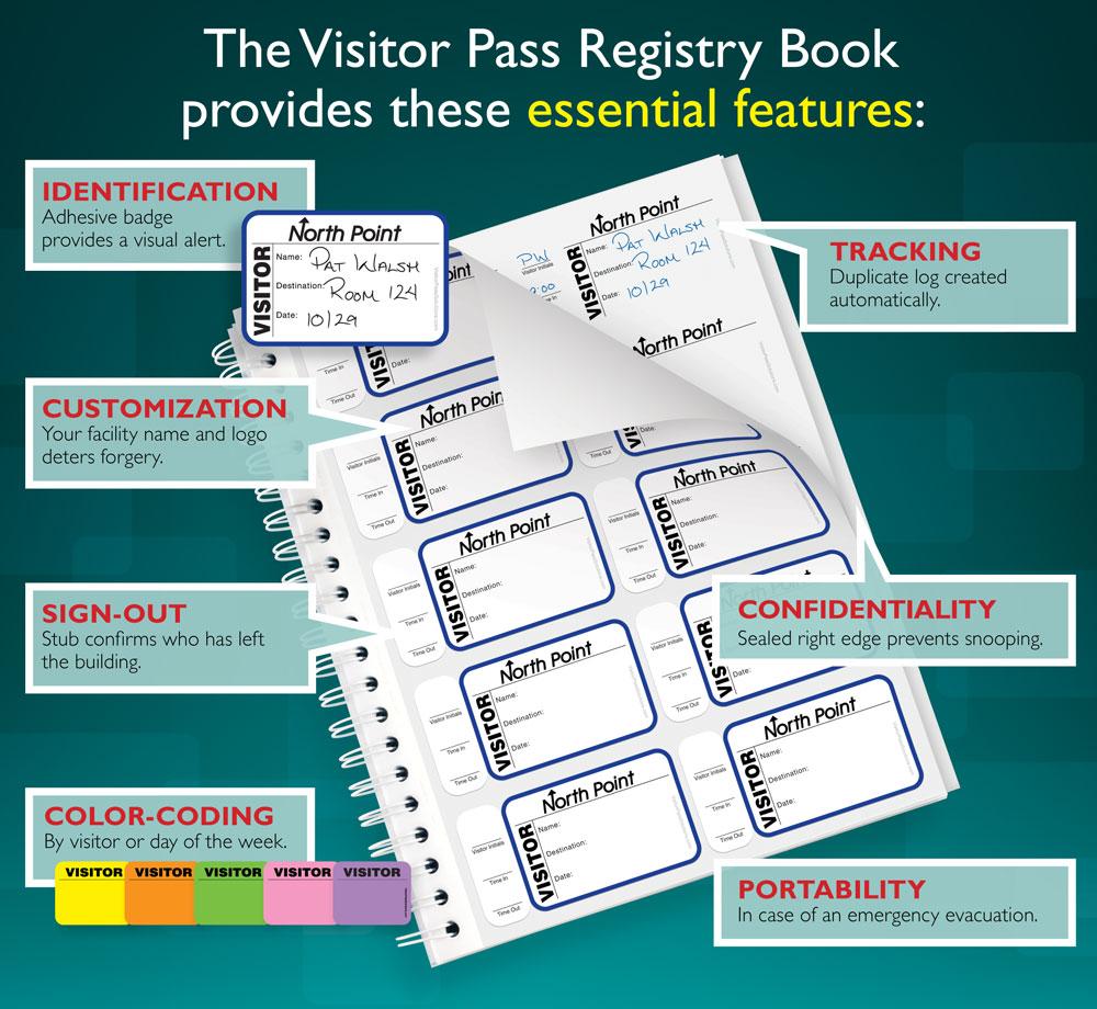 Visitor Pass Registry Book Key Benefits