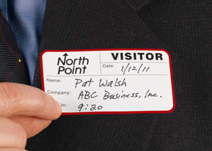 Manual Visitor Badge