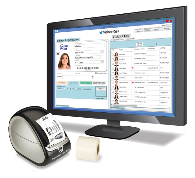eVisitorPass Visitor Management Software