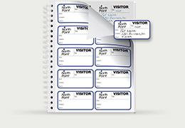 Visitor Management System Visitor Badge Software Log Book