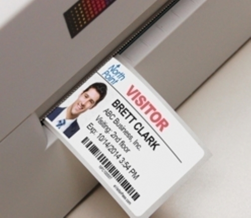 Inkjet Visitor Pass Solutions; One Day Time-Expiring Visitor Badges